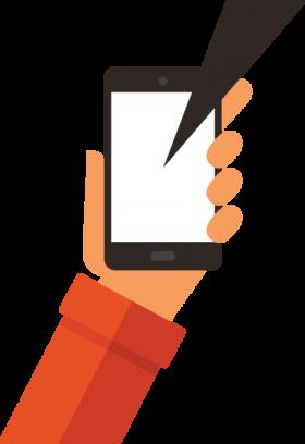 hand-phone-speech